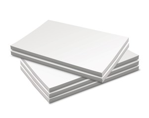 A few stacked canvasses - we use the best materials to display your art.
